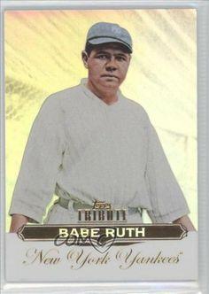 Babe Ruth Babe Ruth BB, New York Yankees (Baseball Card) 2011 Topps Tribute #1 by Topps Tribute. $3.33. 2011 Topps Tribute #1 - Babe Ruth