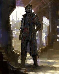 Star-Lord Concept Art(by Andy Park)
