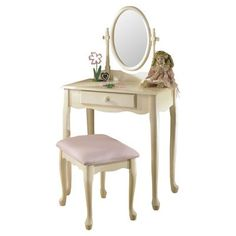 Kids' Vanities - Vanity Set with Mirror -- Check out the image by visiting the link.