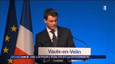 Manuel Valls a présenté le projet de loi Égalité et citoyenneté