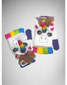 Lisa Frank Rainbow Unicorn Gloves from Spencers Gifts. Saved to Broke Girl's Dream Wardrobe. December Birthday, 16th Birthday, Gag Gifts, Funny Gifts, Unicorn Outfit, Unicorn Clothes, Lisa Frank, Sweet 16 Birthday, Party Lights