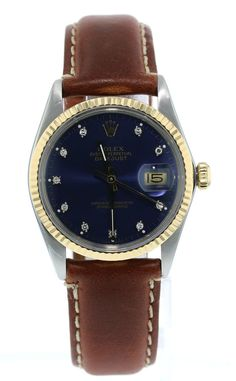 Men's Adult Polished Analog Wristwatches with Dial Rolex Watches For Sale, Ebay Watches, Men's Watches, Luxury Watches, Watches For Men, Men's Rolex, Rolex Datejust, Men's Vintage, Vintage Rolex