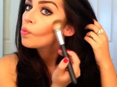 How To Contour and Highlight Your Face: http://karasglamourblog.blogspot.com/2013/07/how-to-contour-highlight-your-face.html