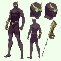 The Jet Specter, second form of the Specter Vigilante. Returning after Daggar blinded and assassinated The Dark Specter.