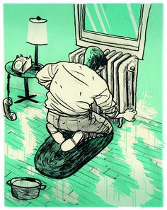 A Flood of Silence - Drew Shannon Illustration