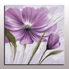 El-Boyalı Natürmort Çiçek/Botanik Yağlıboya,Modern Avrupa Tipi Tek Panelli Kanvas Hang-Boyalı Yağlıboya Resim For Ev dekorasyonu 5505766 2017 – $44.79