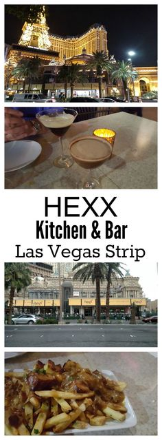Hexx a great place to relax have a drink and people watch, right on the strip.