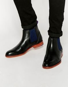 Ted Baker Camroon Leather Chelsea Boots saved by #ShoppingIS