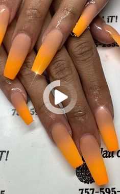 #amazing #Cute #Design #Ideas #Nails #ombre #Part #Summer 53+ Idées de conception d'ongles Ombre mignons et étonnants pour l'été, partie 24; dessins d'ongles d'ombre; tremper les ongles ombre; ombre ongles peau foncée; idées d'ongles d'ombre; idées d'ongles ombre 2019 Summer Acrylic Nails, Cute Acrylic Nails, Summer Nails, Acrylic Nail Designs Coffin, Ombre Nail Designs, Dark Nails, Long Nails, Coffin Nails, Dark Skin Nail Color