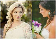 ślub, wesele, fryzury