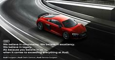 At the helm of everything Audi - we believe in being the pioneer at every edge and corner. Experience everything Audi at India's most awarded Audi Dealership and the nation's largest Audi Workshop. Audi Dealership, Everything, Believe, Workshop, Things To Come, Corner, Atelier