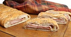 Baked Stromboli Sandwich Recipe from RecipeTips.com!