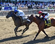 Joking, a 9-1 shot who returned $21.80 while giving owner/trainer Charlton Baker his first graded stakes victory, dashed across the line to upset by a neck. 6/10/16 Private Zone should have been in this race.