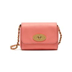 Mulberry - Mini Lily in Macaroon Pink Small Classic Grain