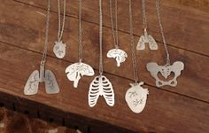 Anatomic Necklaces - Heart of Flint