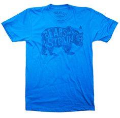 Bears Any Strain Tee Blue