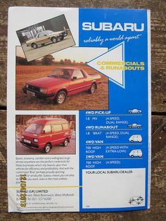 1979 Subaru BRAT For Sale Interior | Cars | Pinterest ...