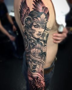 tatouage viking signification Valkyrie mythique divine for men forearm verse tattoos for men for men meaningful