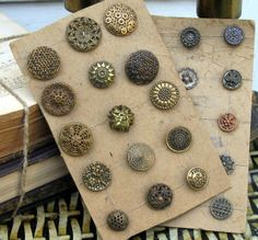 Gorgeous buttons