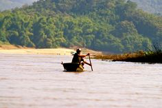 Luang Prabang Mekong tafereel