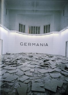 """Hans Haacke, """"Germania"""", Biënnale van Venetië, 1993"""