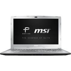 MSI - PE62VR837 - MSI PE62VR 7RF-837 15.6 Performance Laptop Intel Core i7-7700HQ GTX1060 16GB DDR4 1TB Win10 VR Ready -, Silver