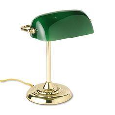 B Ledu Traditional Bankeru0027s Lamp