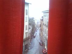 Vista Magnifica Dalla Nostra Red Room