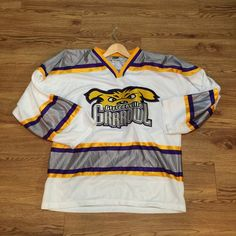 Vintage Greenville Grrrowl Hockey Jersey by VNTGvault on Etsy