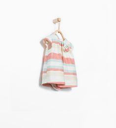 Image 1 de Robe à rayures et bloomer de Zara