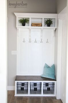 DIY Mudroom Bench Part 91