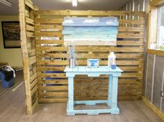 11 Wonderful Pallet Room Dividers Picture Ideas