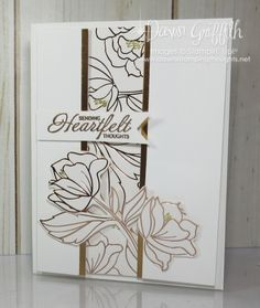 Springtime Foil card video - Dawn's Stamping Thoughts