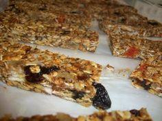Casein Free Recipe: Granola Bars