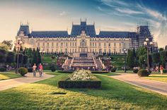 Palace of Culture, Iași, Romania Travel Agency, Rear View, Travel Inspiration, Places To Go, Around The Worlds, Mansions, Country, House Styles, City