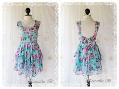 $56 A Party  Cocktail Dress Prom Party Dinner by LovelyMelodyClothing