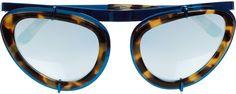 Erdem Cat Eye Sunglasses. Image via Net-A-Porter.