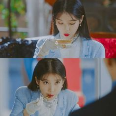 #IU #Hotel_Del_Luna #tvN #LeeJiEun #YeoJinGoo Luna Fashion, Dont Forget To Smile, Got7 Bambam, Kdrama Actors, Pretty Men, You're Awesome, Little Sisters, Jaehyun, Korean Singer