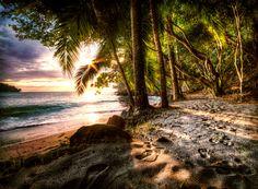 Quepos, Puntarenas, Costa Rica Beach (by Jordan Stern)