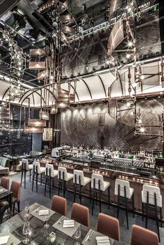 AMMO Restaurant and bar, Hong Kong. Design by Joyce Wang