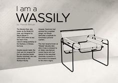 Bauhaus, Famous Product Designers, Furniture Projects, Furniture Design, Wassily Chair, Information Art, Design Movements, Architecture Design, Deco Design
