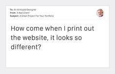 20 Terrible Client Emails That Every Designer Dreads #DesignerProblems