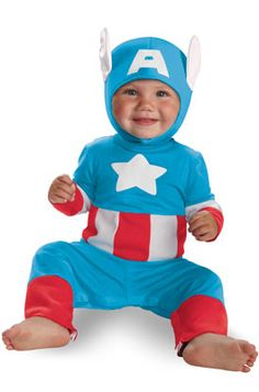 Marvel Captain America Kutie Toddler Costume #Halloween #costumes #superheroes #costumeparty