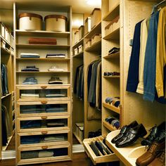 SICK Byron Allen - contemporary - closet - other metros - by Lisa Adams, LA Closet Design
