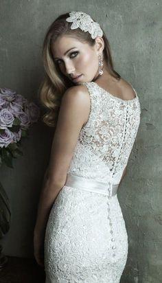 Cheap Long Bridal Dress #wedding #bridal