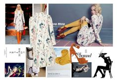 """""""Elle Fanning in Miu Miu 2014 Campaign"""" by catwalkcouture ❤ liked on Polyvore featuring Miu Miu, Givenchy and Chanel"""