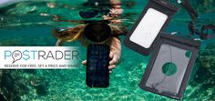 Do you prefer having your phone or tablet on you by the pool or the lakeshore? Logilink's heavy duty, universal waterproof cases can keep away the water from your precious gear. This way you can take photos in the pool or when going down the slopes and you can even listen to music in a wet environment. Do you know anyone who is looking for one? Share the offer with them and get paid EUR 0.51 net as a return. https://postrader.co.uk/src-ip/weekly-promotion