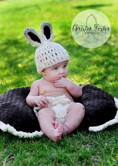 baby photo for Easter    mini session easter