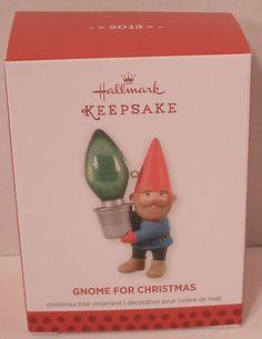 Hallmark Ornament 2013 Gnome for Christmas NIB NEW Elf Holiday Tree Decoration