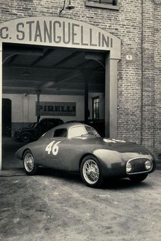 Stanguellini was one of the car makers which sprung up just after the war, alongside Abarth, Cisitalia, Ferrari, Maserati and Nardi… Not all of them would be successful. Maserati, Ferrari, Vintage Racing, Vintage Cars, Alfa Romeo, Automobile, Gilles Villeneuve, Steyr, Old Cars